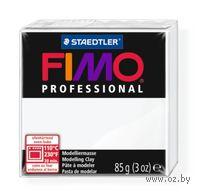 """Глина полимерная """"FIMO Professional"""" (белый; 85 г)"""