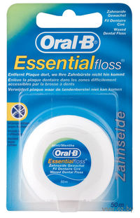 Зубная нить невощеная ORAL-B Essentialfloss