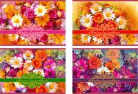 """Альбом для рисования """"Цветные ромашки"""" (40 листов)"""