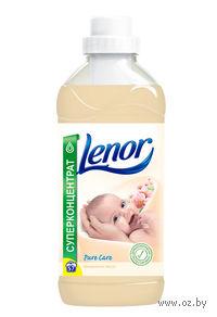 """Концентрат-ополаскиватель Lenor для чувствительной кожи """"Миндальное масло"""" (1 л.)"""