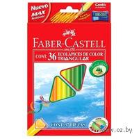 Цветные карандаши Faber-Castell ECO (36 цветов + точилка)