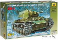 Советский танк КВ-1 с пушкой Л11 образца 1940 года (масштаб: 1/35)