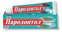 """Зубная паста """"Пародонтол"""" Кедровый (124 г)"""