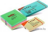 """Бумага для записей на клейкой основе """"Info notes"""" (розовая пастель; 75 x 125мм; 100 листов)"""