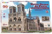 """Сборная модель из картона """"Нотр-Дам де Пари"""" (масштаб: 1/200)"""