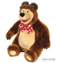 """Мягкая музыкальная игрушка """"Маша и Медведь. Мишка"""" (28 см)"""