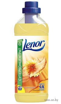 """Концентрат-ополаскиватель Lenor """"Летний день"""" с экстрактом цветов хлопка (2,0 л.)"""