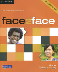 Face2Face. Starter. Workbook with Key