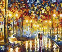 """Картина по номерам """"В дождливый вечер"""" (400x500 мм; арт. MG320)"""