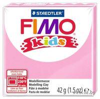 """Глина полимерная """"FIMO Kids"""" (нежно-розовый; 42 г)"""