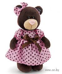"""Мягкая игрушка """"Медведь Milk в летнем платье"""" (30 см)"""
