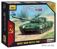 Советский основной боевой танк Т-72Б (масштаб: 1/100)