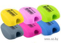 Точилка пластиковая 6178 (цвет: ассорти)