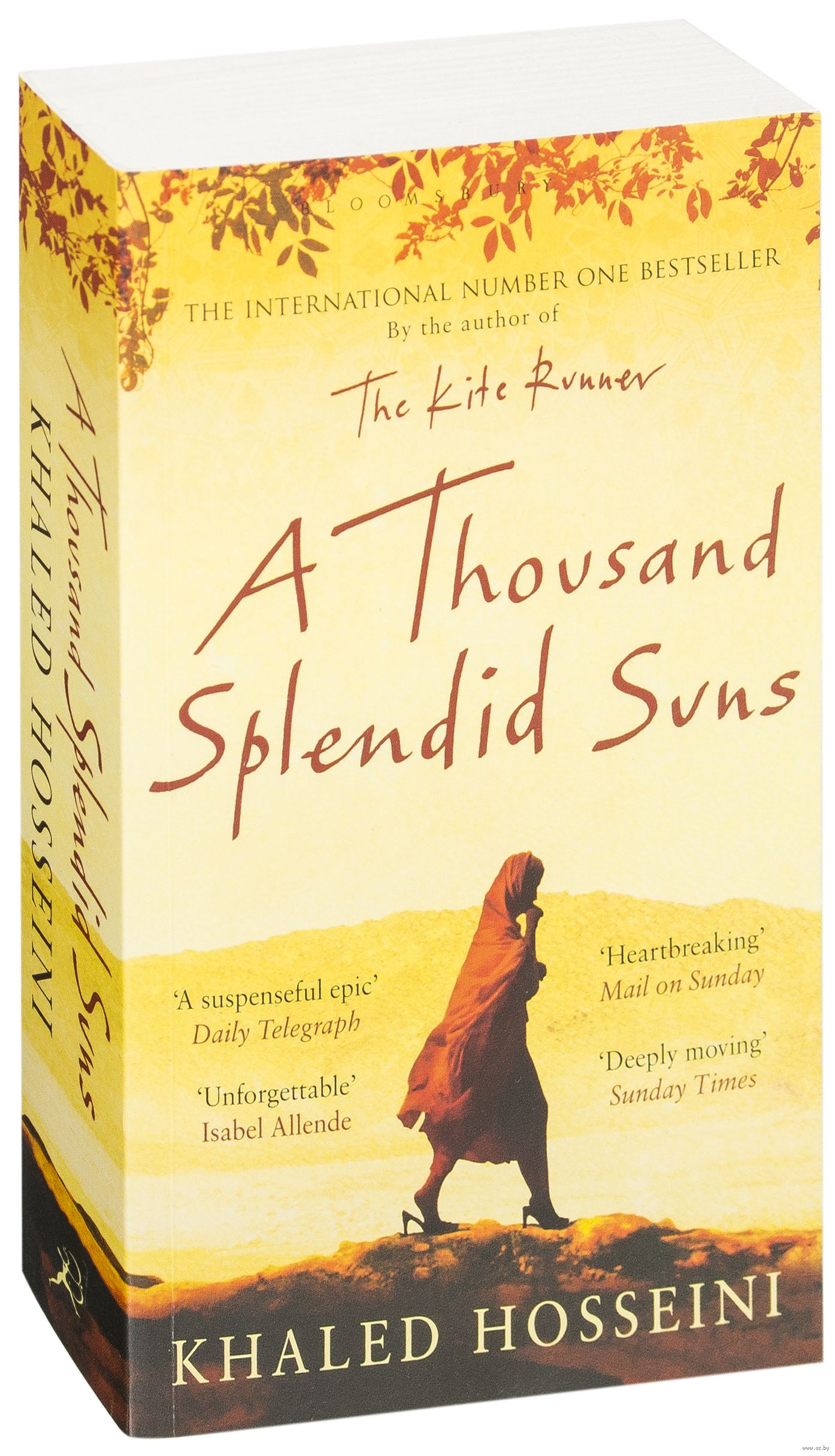comparing a thousand splendid sons and the I had the exact same experience while reading a thousand splendid suns - comparing the scary, sf of the handmaids tale, to the scary, real life of women in afghanistan amazing how easily our freedom could/can be taken from us.