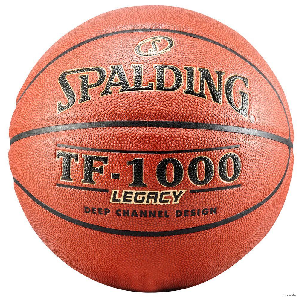 50d6aa01 Мяч баскетбольный Spalding TF-1000 Legacy №7 : купить в Минске. Купить Мяч  баскетбольный Spalding TF-1000 Legacy №7 в интернет-магазине — OZ.by