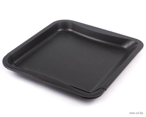 Противень для запекания металлический, раздвижной, с антипригарным покрытием (37,5-52*32,5*3 см)