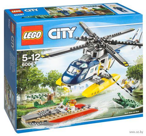 """LEGO City """"Погоня на полицейском вертолете"""""""
