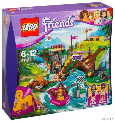 """LEGO Friends """"Спортивный лагерь: сплав по реке"""""""