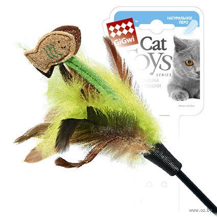 Дразнилка для кошек на стеке (75 см; арт. 75017)