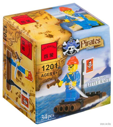 """Конструктор """"Pirates. Пират на плоту"""" (34 детали) — фото, картинка"""