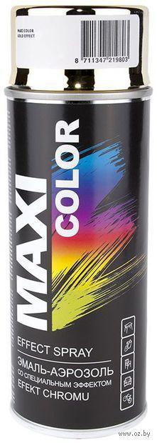 """Эмаль аэрозольная """"Maxi Color"""" (золото; 400 мл) — фото, картинка"""