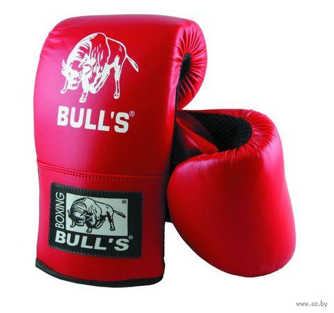 """Перчатки снарядные """"Bull's"""" (XL; красные) — фото, картинка"""