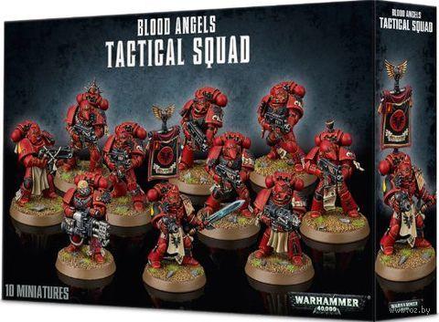 Warhammer 40.000. Blood Angels. Tactical Squad (41-12) — фото, картинка