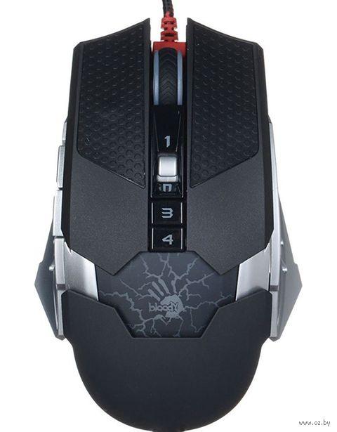 Мышь A4Tech Bloody T50 USB (черная) — фото, картинка