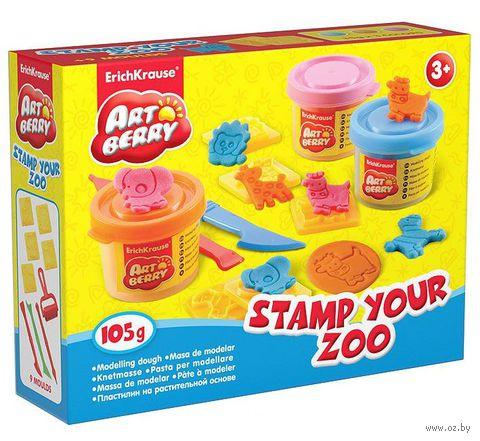 """Набор для лепки """"Stamp Your Zoo"""""""