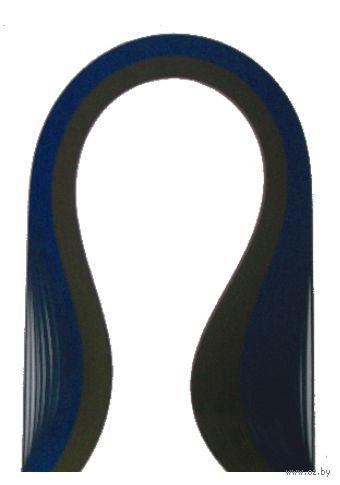 Бумага для квиллинга (300х3 мм; шоколад и темно-синий; 100 шт)