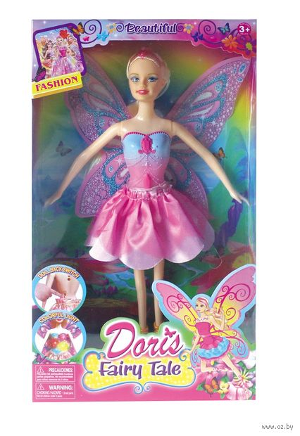 "Кукла ""Фея"" (со световыми эффектами; арт. YH8028-1) — фото, картинка"