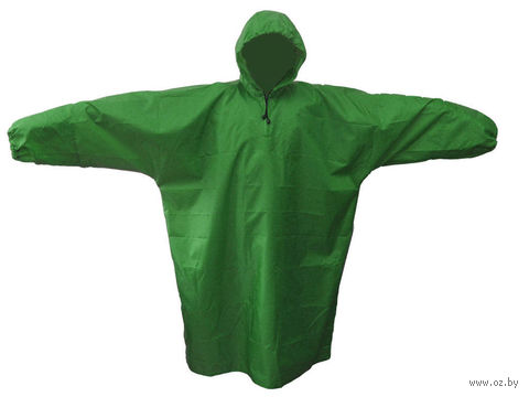Плащ влагозащитный (М, темно-зеленый)