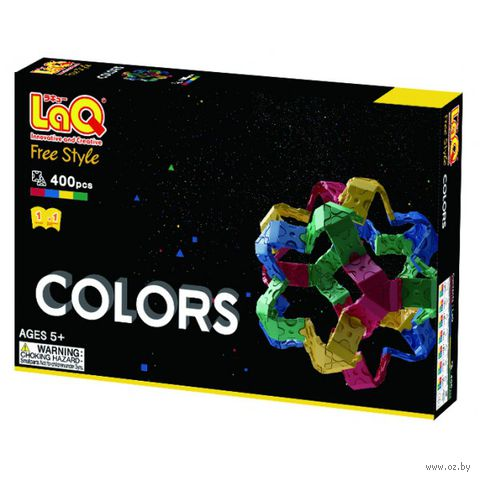 "Конструктор ""LaQ. Free Style Colors"" (400 деталей)"