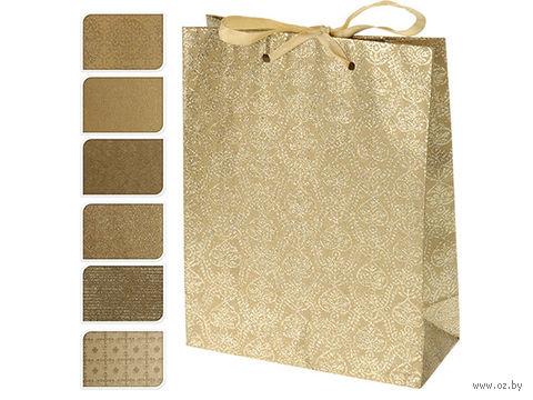 Пакет бумажный подарочный (в ассортименте; 18х23х8 см; арт. A59100020)