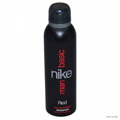 "Дезодорант парфюмерный для мужчин ""Nike. Basic Red"" (спрей; 200 мл)"