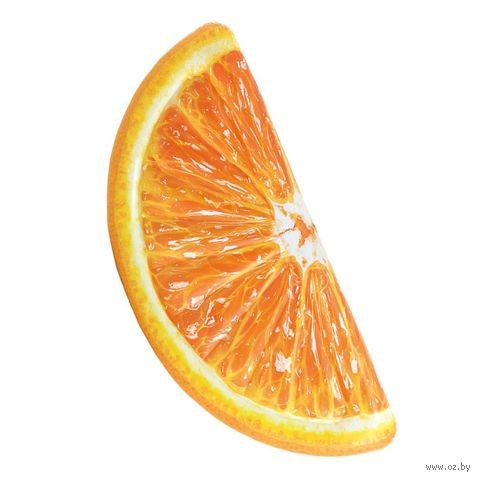 """Матрас надувной для плавания """"Апельсин"""" (178х85 см) — фото, картинка"""