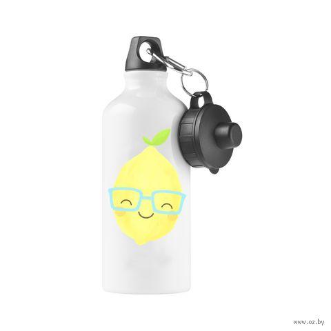 """Бутылка """"Лимончик в очках"""" (500 мл; арт. 761) — фото, картинка"""