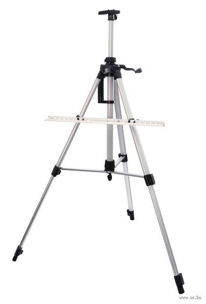 Мольберт-тренога телескопический (серебристый; арт. 75-BS) — фото, картинка