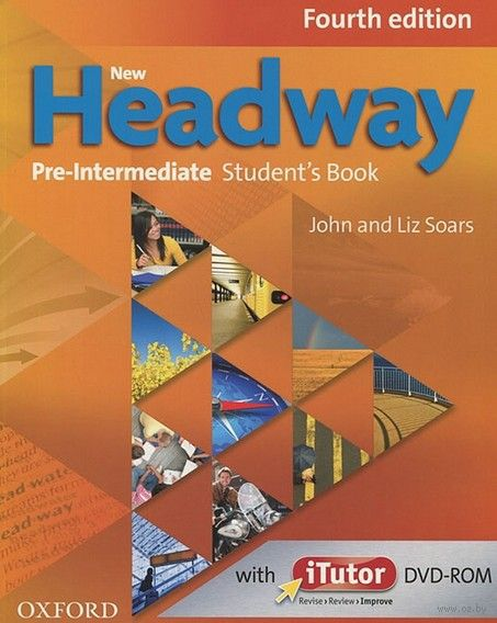 New Headway. Pre-Intermediate. Student`s Book (+ DVD). Джон Сорс, Лиз Сорс
