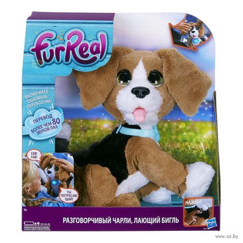 """Мягкая интерактивная игрушка """"Говорящий щенок Чарли"""" (30 см) — фото, картинка"""