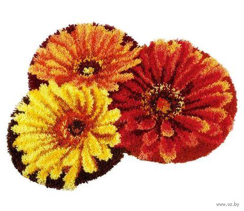 """Вышивка в ковровой технике """"Коврик. Цветочный ковёр"""" (690х600 мм) — фото, картинка"""