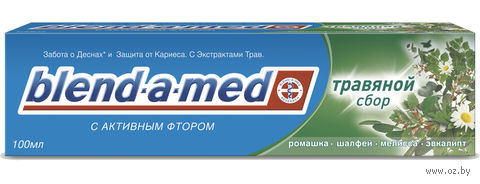 "Зубная паста ""Анти-Кариес. Травяной Сбор"" (100 мл)"