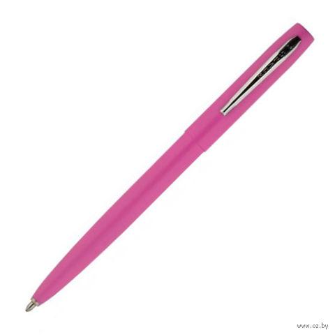 "Ручка шариковая ""Cap-o-Matic"" (pink, barrel chrome)"
