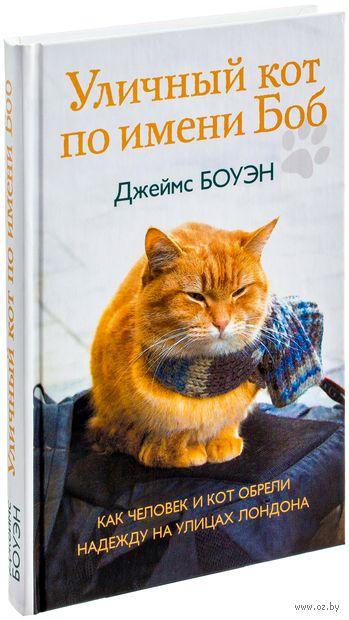 Уличный кот по имени Боб. Джеймс Боуэн