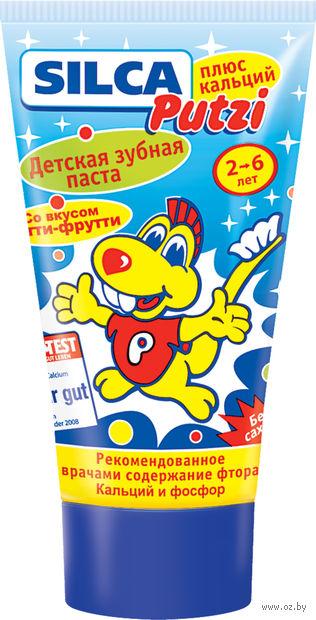 """Зубная паста Silca Putzi """"Кальций"""" (50 мл)"""