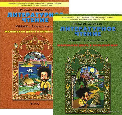 Литературное чтение. 2 класс. Маленькая дверь в большой мир (комплект из двух книг). Рустэм Бунеев, Екатерина Бунеева