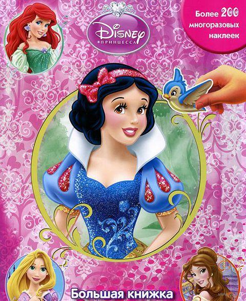Принцессы. Большая книжка с наклейками — фото, картинка
