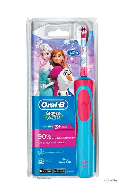 Электрическая зубная щетка Braun Oral-B Stages Power Frozen (D12.513.K) — фото, картинка