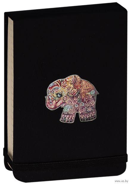 """Блокнот в клетку """"Слон"""" (А6; арт. 011) — фото, картинка"""