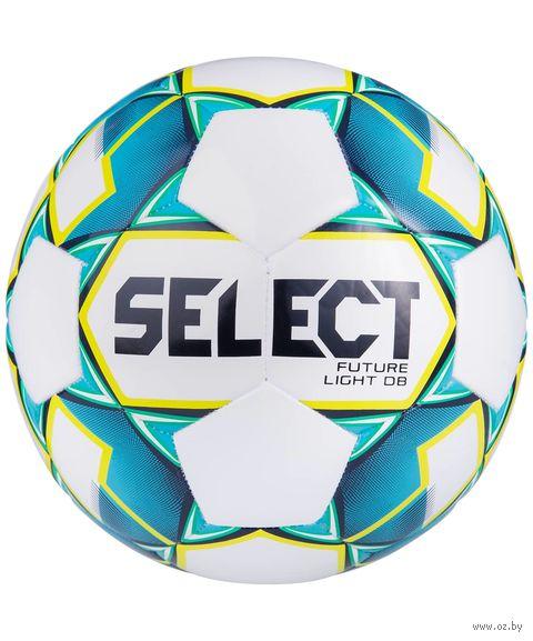 """Мяч футбольный Select """"Future Light DB"""" №4 (бело-бирюзовый) — фото, картинка"""